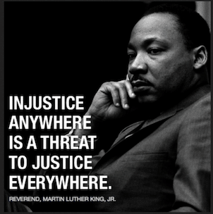 Martin Luther King Injustice Anywhere is a Threat to Justice Everywhere, Coupon Codes for Therapist Development Center