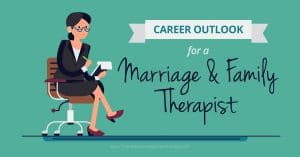 Career Outlook for a marriage and family therapist