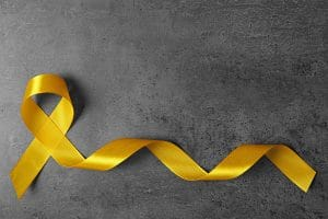 Suicide Prevention Month, Yellow ribbon
