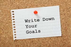 5 Things Every Social Work Graduate Should Know, Write Down your Goals