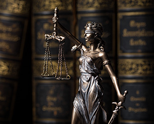 Lady of justice in law and ethics